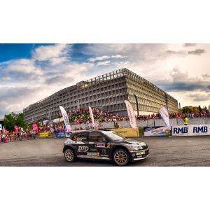 Podium pentru toate echipajele DTO Tellur Rally Team la Transilvania Rally 2018 de la Cluj