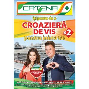 """S-a lansat campania """"Catena îţi poate da o Croazieră de vis pentru inima ta!"""""""