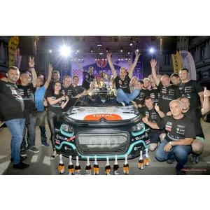 Victorie pentru DTO Rally Team, echipă susţinută de Catena,  la Campionatului Național de Raliuri 2019