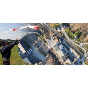 SmartOne UAV este controlat prin telecomandă
