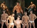show stripperi. Stripperii spanioli ''LOCO BOYS'' fac furori de Ziua Femeii la Sala Palatului