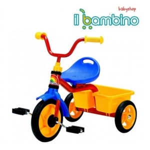 triciclete de copii. Ilbambino.ro prezinta noua gama de triciclete pentru copiii aventurosi si dornici de plimbari