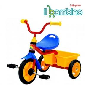 triciclete 3 in 1. Ilbambino.ro prezinta noua gama de triciclete pentru copiii aventurosi si dornici de plimbari