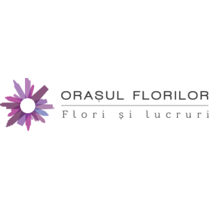 flori 1-8 martie. Logo florarie online premium OrasulFlorilor.ro
