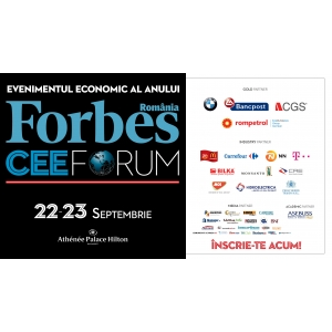 forbes cee forum 2015. FORBES CEE Forum 2015: 25 de strategii de creștere sustenabilă