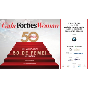 woman is power. Gala Forbes Woman a ajuns in 2016 la a cincea editie