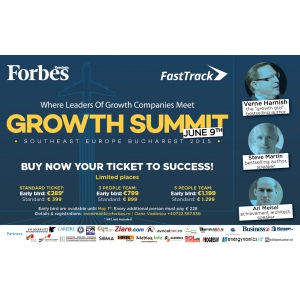 forbes growth summit. GROWTH SUMMIT - Your best investment for 2015