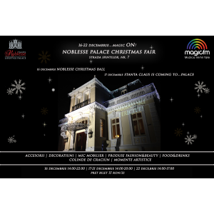 noblesse christmas ball. Noblesse Palace Christmas Fair – Magic ON!