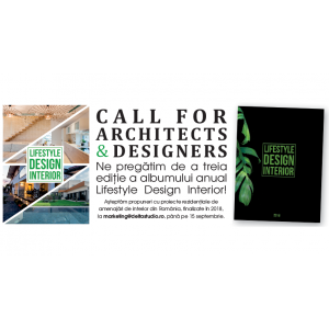 "Call for Architects and Designers –  Delta Studio pregătește Albumul ""Lifestyle Design Interior 2019"""