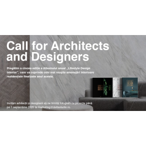 "Call for Architects and Designers – Delta Studio pregătește Albumul ""Lifestyle Design Interior"" 2021"