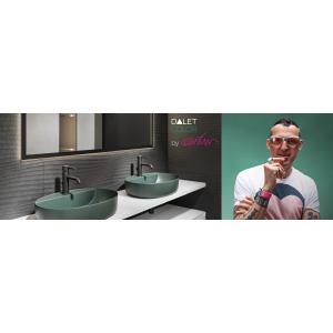 Designerul internațional Karim Rashid semnează colecția de obiecte sanitare DALET Color din portofoliul Delta Studio