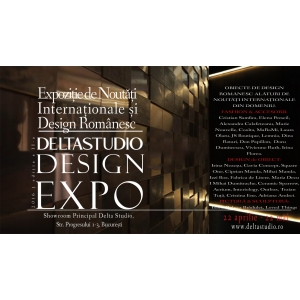 lansare Stigmata. Eveniment lansare Delta Studio Design EXPO editia a II-a