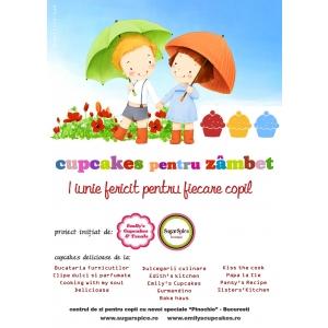 cupcakes. Cupcakes pentru zambet - un proiect pentru toti copii