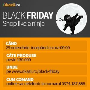 black friday okazii ro. Black Friday Okazii.ro va avea loc pe 29 noiembrie, începând cu ora 00.00