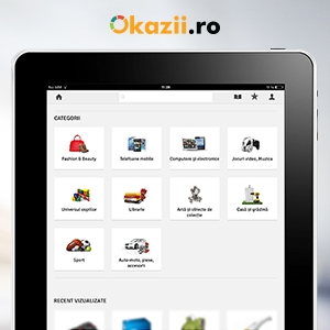 aplicatie ipad okazii ro. Aplicatie iPad Okazii.ro