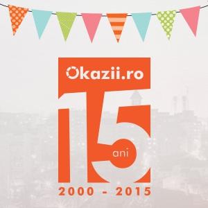 Okazii.ro sărbătoreşte 15 ani de activitate