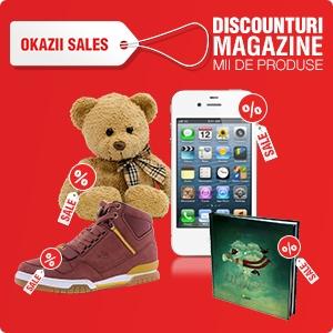 okazii sales. Okazii Sales, reduceri la peste 37.000 de produse din zeci de magazine