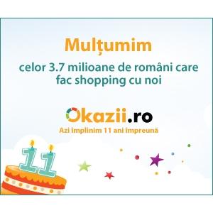 Okazii ro. Okazii.ro 11 ani in Romania