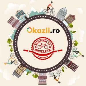 Parteneriat între Okazii.ro şi RegistruldeBiciclete.ro pentru creşterea siguranţei privind originea produselor