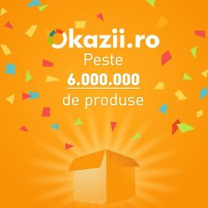 Pe Okazii.ro sunt peste 6 milioane de produse