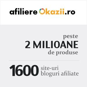 2 milioane de produse. Afiliere Okazii.ro