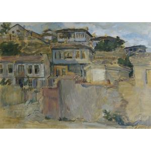 chintila. Jean Al. Steriadi (1880-1956) - Balcic