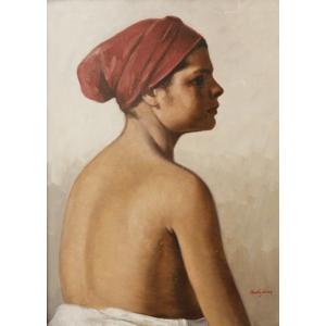 Bompa. Petru Bulgaras (1885-1939) - Profil de femeie