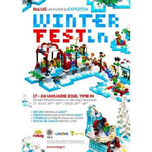 WINTER FESTin – Expozitia LEGO a iernii !
