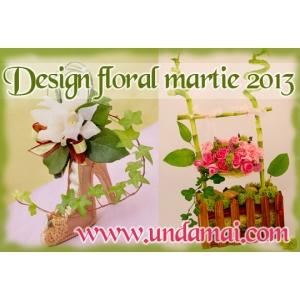 aranjamente florale martie. design floral Unda Mai, aranjamente si martisoare florale martie 2013