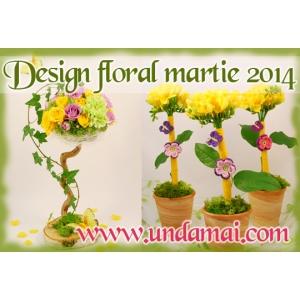 martie 2014. Flori si cadouri CREATIVE pentru 1 si 8 martie 2014