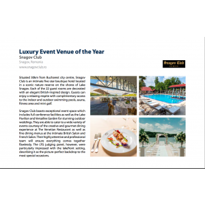 Luxury Event Venue of the Year