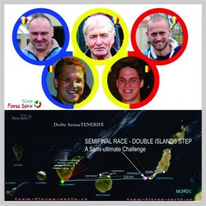 porumb. Team florea Sorin obtine rezultate senzationale in semifinala  derby-ului arona tennerife 2016