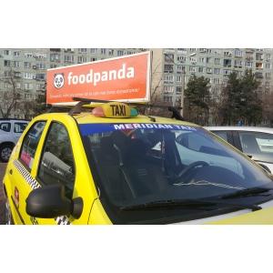Comanda online mancarea ta preferata, chiar si in timpul cursei de taxi