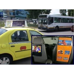 publicate in taxi. publicitate pe taxi, publicitate in taxi