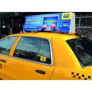 expunere. Publicitate neconventionala pe taxi - Evia Media