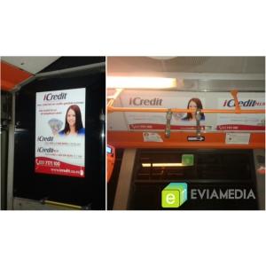 reclama ratb. Publicitate in interiorul autobuzelor RATB _ EviaMedia