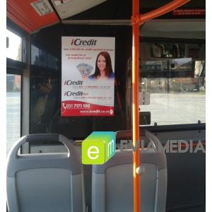 reclama ratb. Publicitate in autobuz RATB