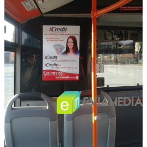 publicitate in autobuze. Publicitate in autobuz RATB