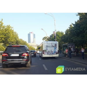 autobuz ratb. Publicitate pe RATB - campanie Meli Melo
