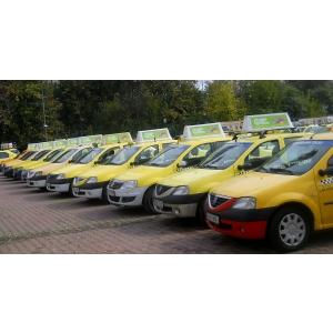 can. Publicitate pe taxi Evia Media - Campanie Alucro