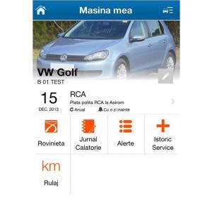 """masina mea. """"Masina mea"""" din cadrul aplicatiei Auto.ro vine cu noi facilitati pentru soferi"""