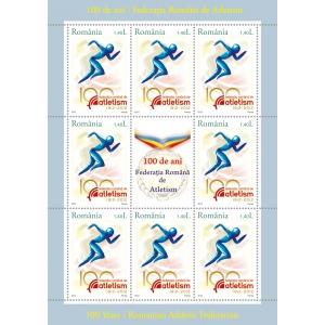 atletism. 100 de ani – Federația Română de Atletism