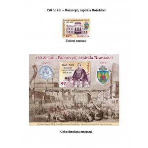 150 DE ANI – BUCUREŞTI, CAPITALA ROMÂNIEI