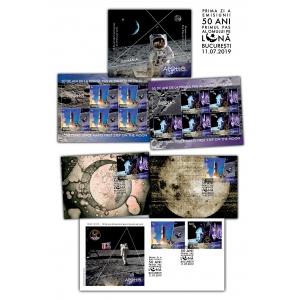 50 de ani de la primul pas al omului pe luna