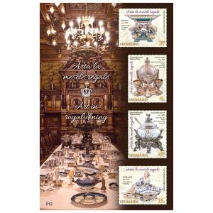 Arta mărcilor poștale și Arta la mesele regale