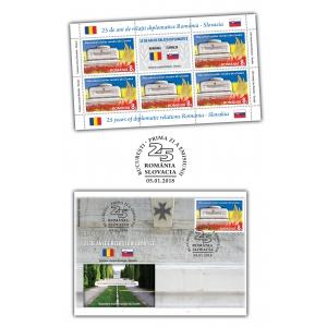 Comunicat de presă - Emisiune comună ROMÂNIA – SLOVACIA - 25 de ani de relații diplomatice