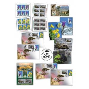 Romfilatelia: Mărci poștale Parcuri Naturale din România