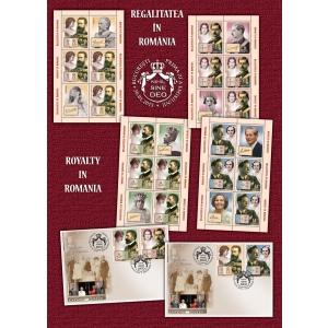 Cuplurile regale din istoria monarhiei române omagiate în filatelia naţională
