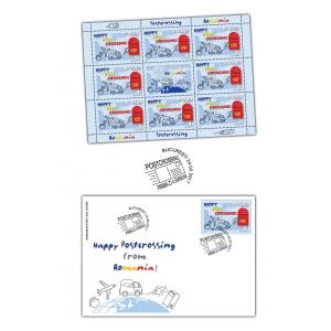 De la filatelie la Postcrossing