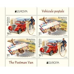 romfilatelie. De la poștalion la avion – tradiție și modernitate în istoria vehiculelor poștale